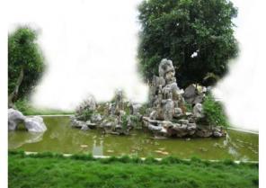 Hon Non Bộ sân vườn