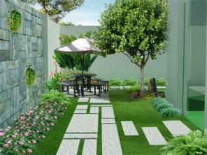 Sân Vườn Đẹp 1